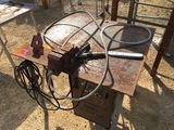 Welding table w/welder