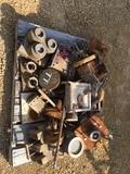 Pallet of Press Dies & Steel Parts