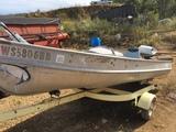 V Bottom Boat