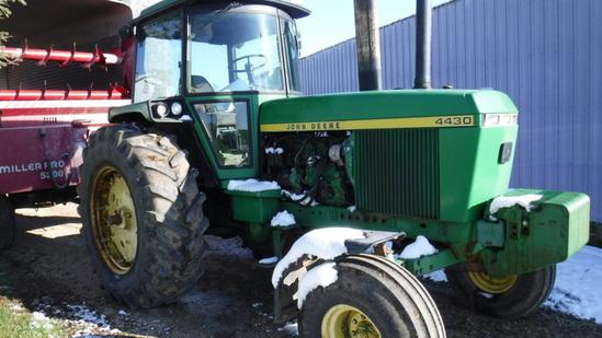 Owen Bennett Farm Auction - Hennessey Auction Co.