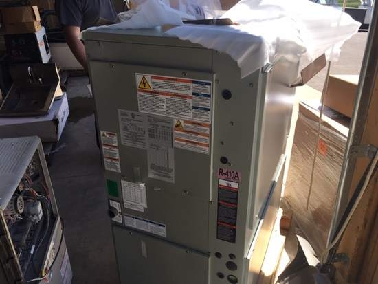 Unused in the Box Trane Split Air Conditioning and Heating System