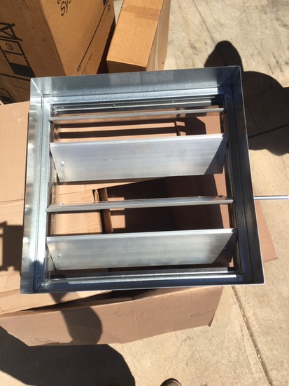 Unused in Box Pottorff Louver