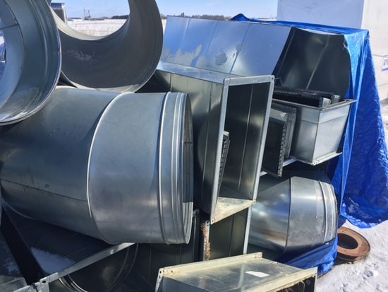 Quantity of 24'' Commercial Duct Work