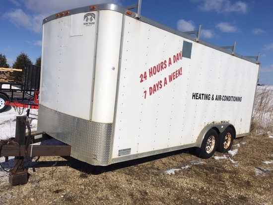 18' Enclosed Trailer