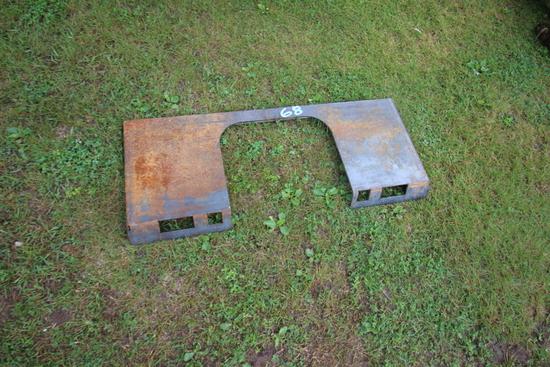 Skid Steer Plate