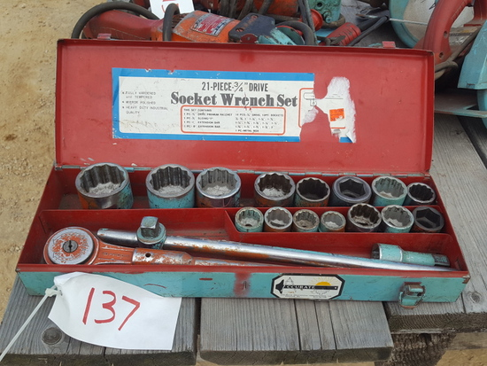 3/4'' Socket Set