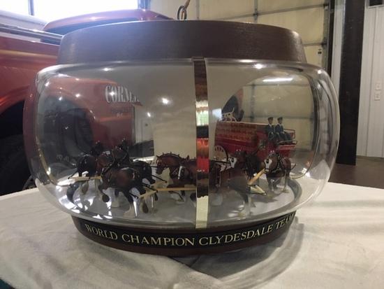 Budweiser World Champion Clydesdale Team Carousel