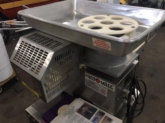 Patty-O-Matic 330A 3 plate patty molding machine
