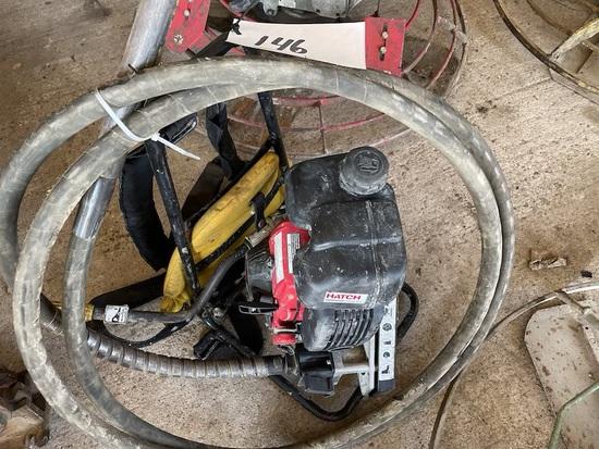 Hatch Concrete Vibrator