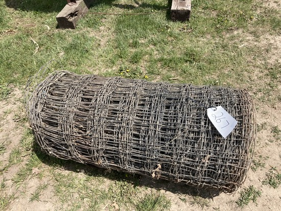 Roll of Woven Wire Fence Panel