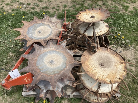 Cultivator Rolling Shields