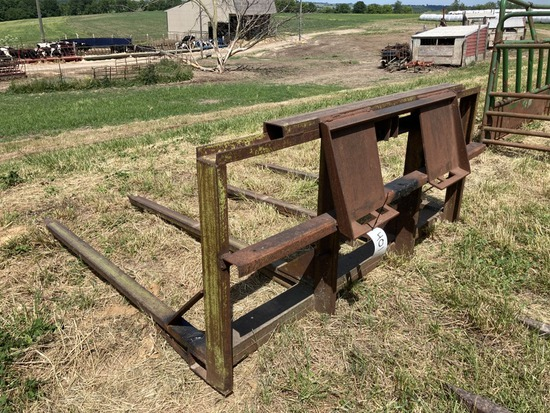 Stack Mover w/ Skid Steer Mount Plate