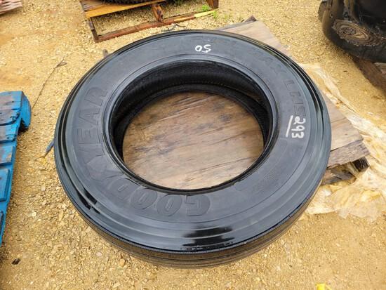 285-75-R24.5 Skid Steer Tire