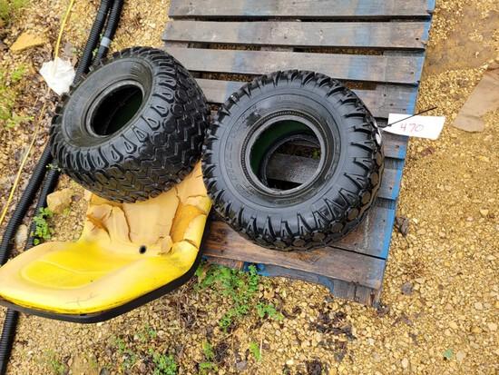Gator Tires & Seat