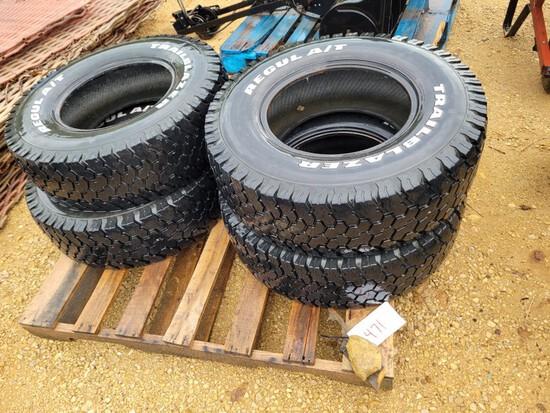 (4) 265-75-R16 Tires