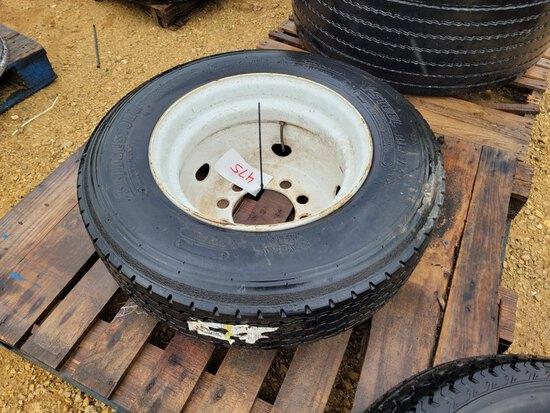 215-75-17.5 10 Bolt Dynaweld Tire & Rim