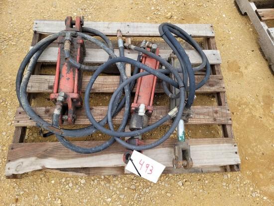 (3) Hydraulic Rams