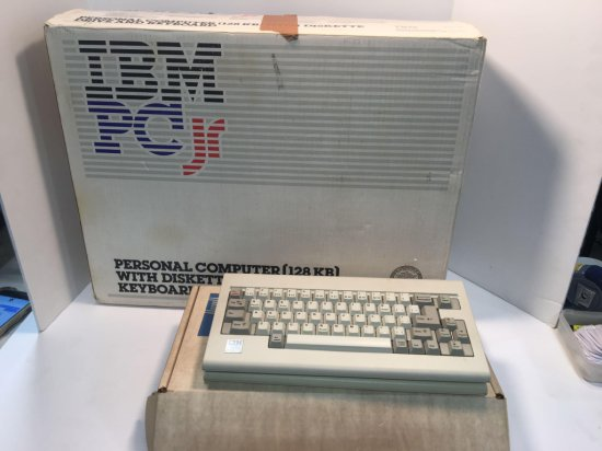 IBM PC Jr computer lot