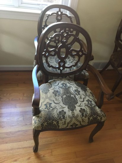 2- matching dining room chairs