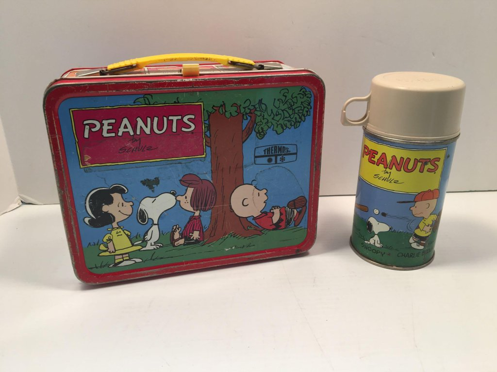 Peanuts thermos and lunch box