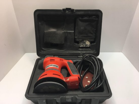 Black & Decker Firestorm electric orbital sander/Storage case