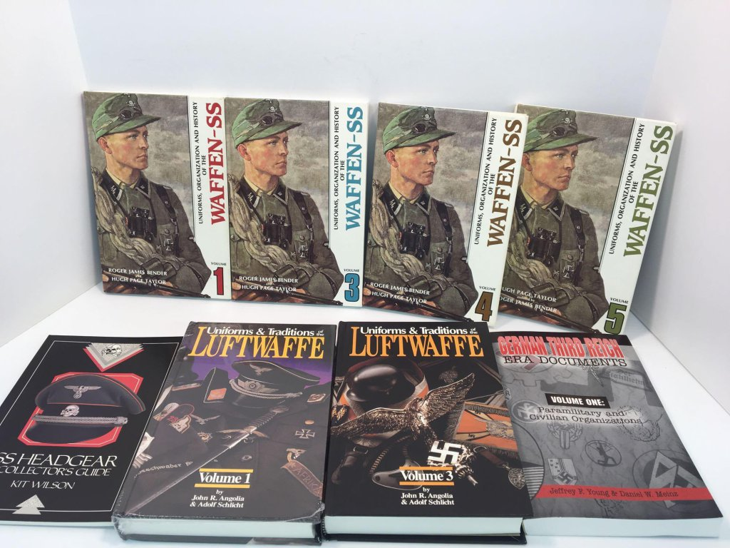 German/Nazi themed books