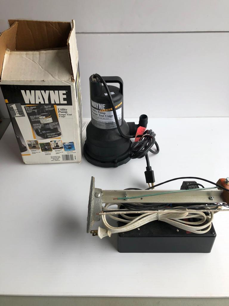 WAYNE Utility pump,more