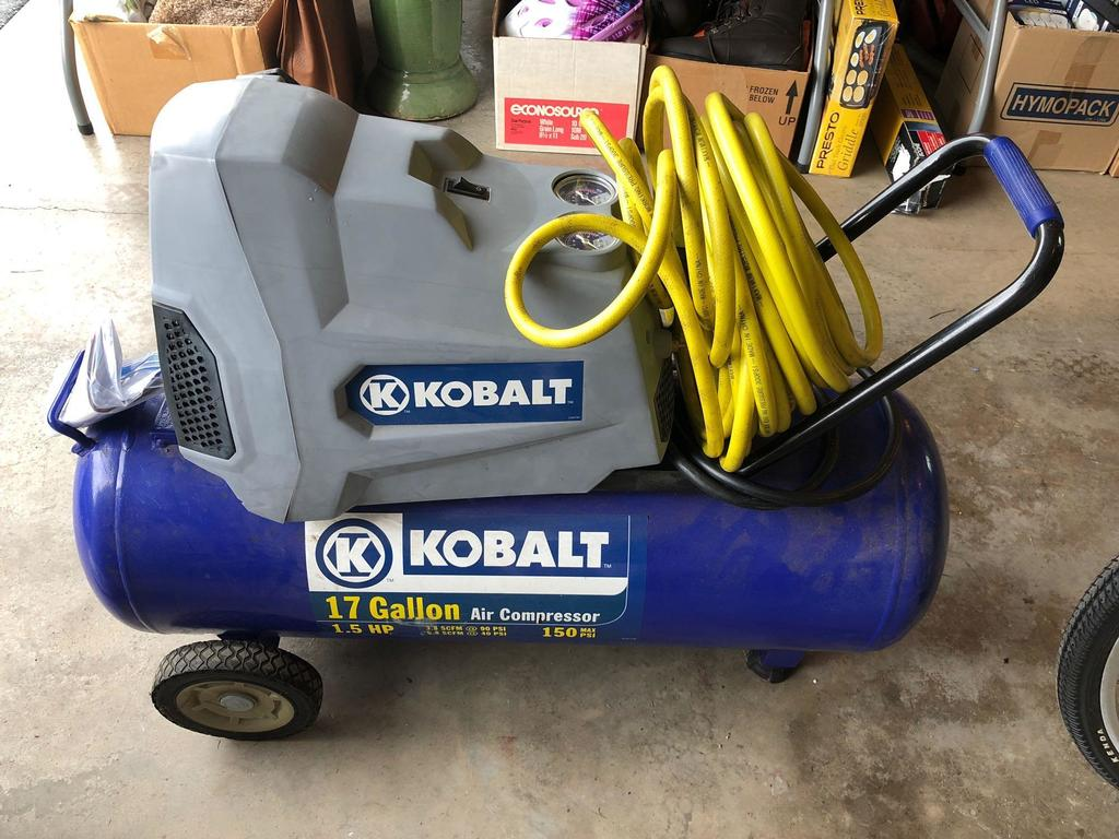 KOBALT portable air compressor(Model 236005)