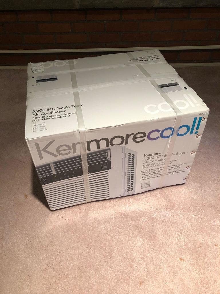 KENMORE 5200 BTU air conditioner (NIB)