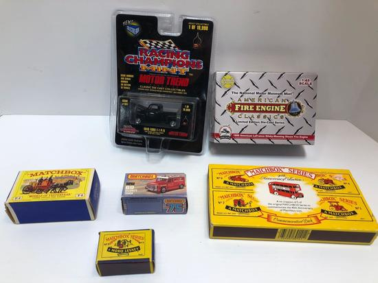 Die cast cars and trucks (some MATCHBOX)