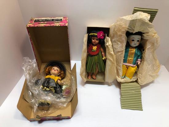 Vintage VOGUE GINNY doll, vintage ethnic themed dolls | Art