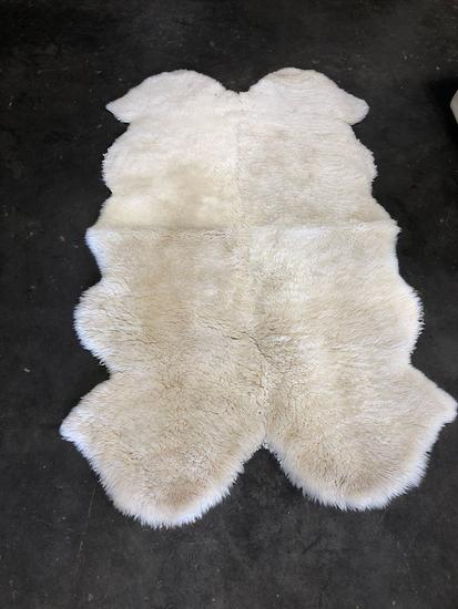 Genuine animal skin run- possibly sheep
