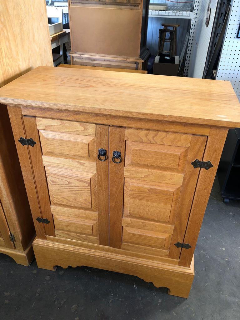 Handmade wood cabinet