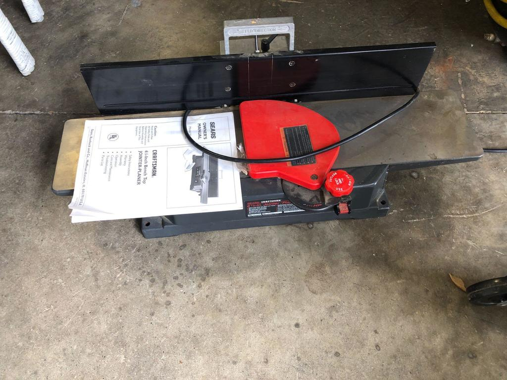Craftsman 6 1/8? bench top jointer planer