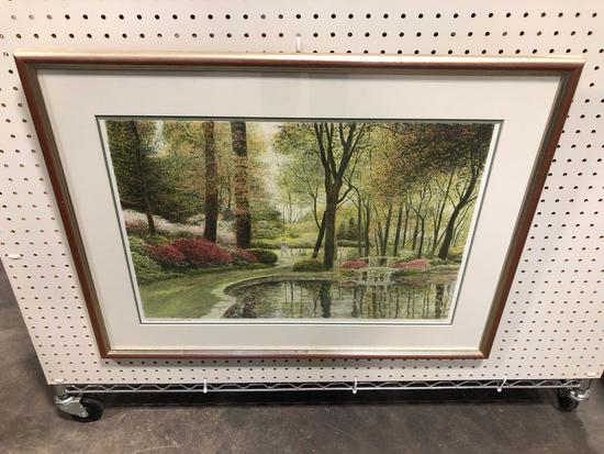 Landscape Print- Printed in France by Atelier Desjobert