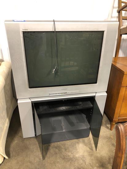 Sony Trinitron TV w/ Cabinet