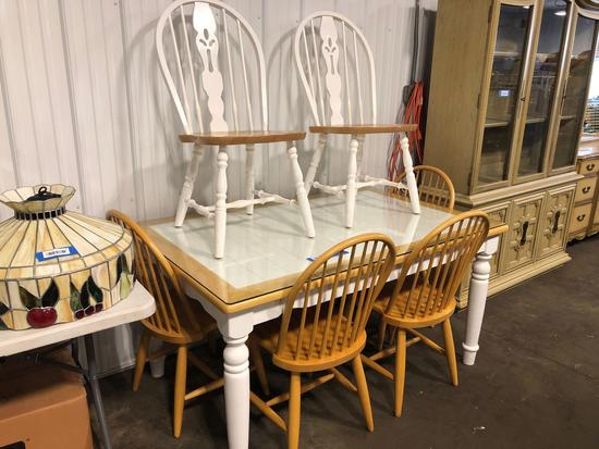 Country Table W/Chairs
