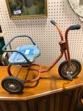 Antique child?s tricycle