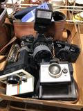 KS super to 35 mm camera square shooter to Polaroid land camera you Shika ME1 camera 35 mm
