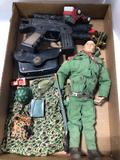 G.I. Joe doll accessories and other vintage toys