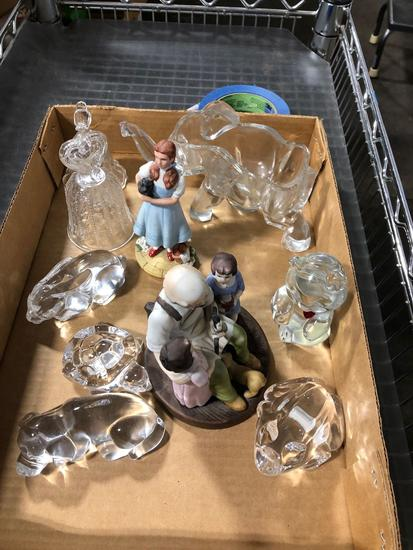 Glass Paper Weights and Collectibles