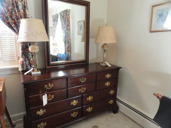 Statton long bureau with mirro auctions online proxibid