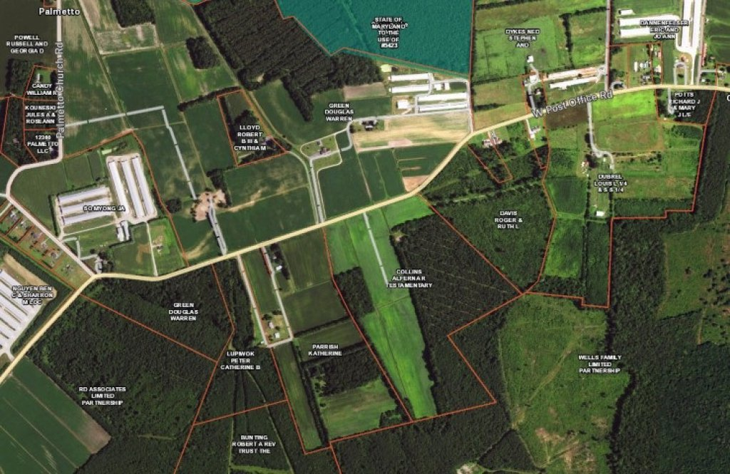 57 ACRE FARM ON WEST POST OFFICE ROAD 29.6 ACRES CLEAR AND 27.4 ACRES WOODL