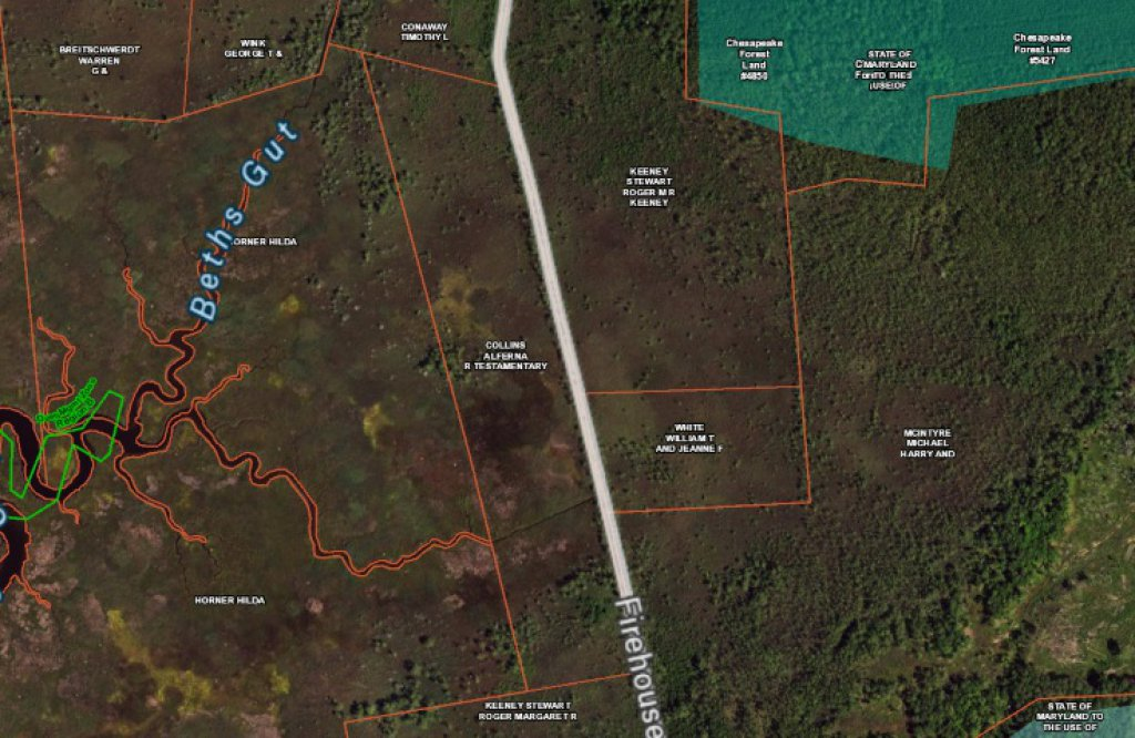27.75 ACRE FARM ON FIREHOUSE ROAD ACCESS IS NEXT TO MT VERNON FIREHOUSE THE