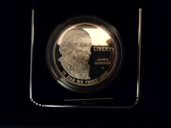 UNITED STATES MINT BILL OF RIGHTS COINS