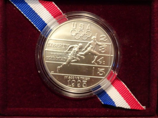 THE UNITED STATES OLYMPIC COINS OF THE ATLANTA CENTENNIAL OLYMPIC GAMES 199