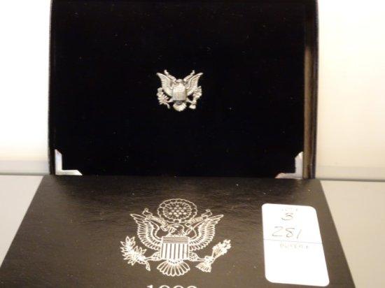 UNITED STATES MINT PREMIER SILVER PROOF SET 1992