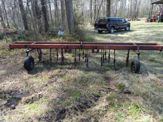 #131 PITTSBURGH 4 ROW CULTIVATOR SN #136743