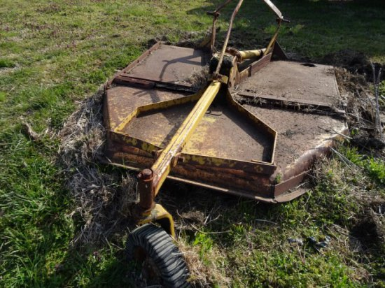 #104 WOODS MOWER MOD M72I1 SN #7808 ROUGH CONDITION RUSTED WITH PTO SHAFT