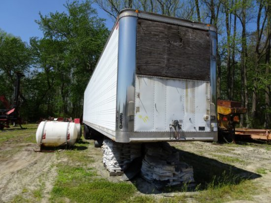 1995  DORSEY 48' TRAILER 1995 WAS A REEFER BODY REFRIGERATION REMOVED